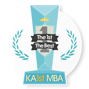 The 1st The Best KA1st MBA