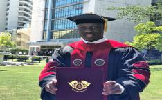 [People] Alumni News: Ronald Baganzi, the first PhD holder from a Korean University